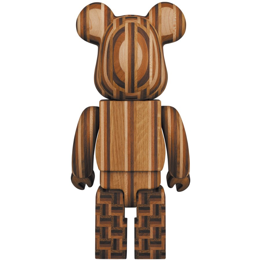 BE@RBRICK カリモク 寄木 2nd 400%|project1-6|02