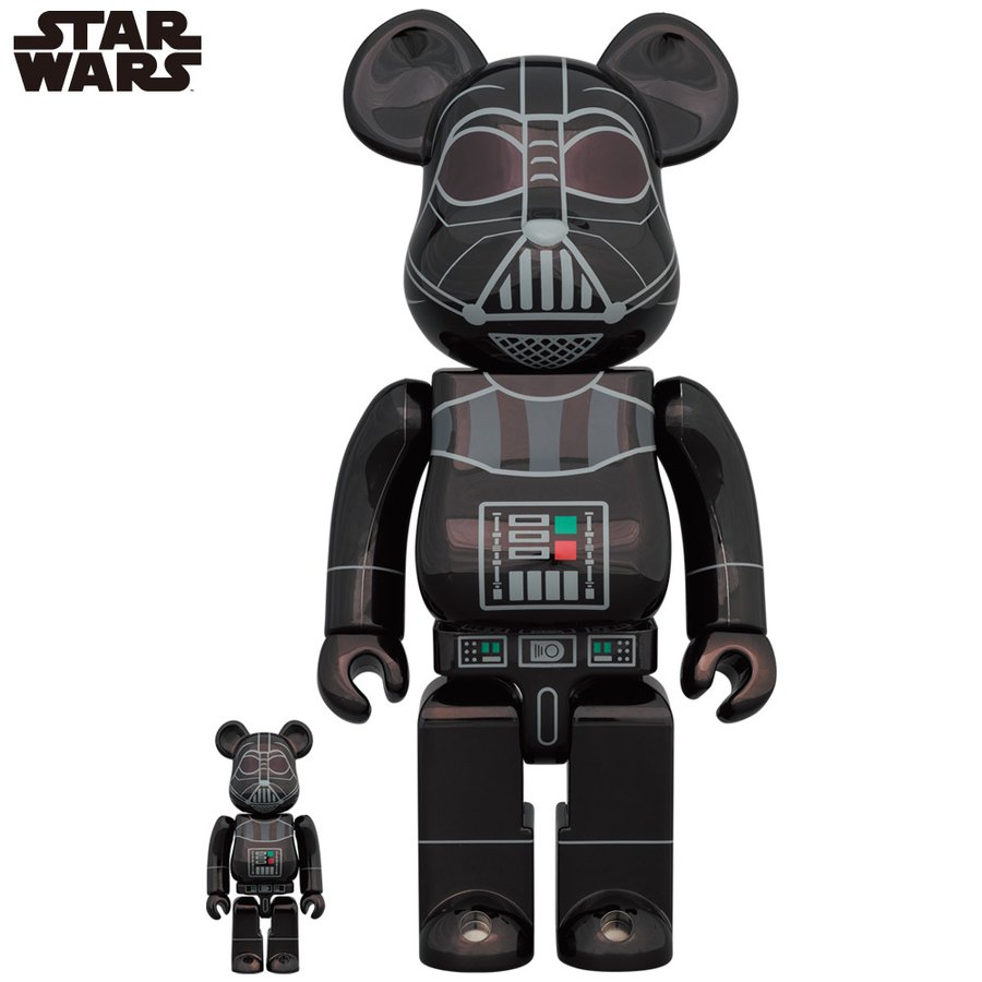 BE@RBRICK DARTH VADER(Rogue One Ver.) Chrome Ver.100% & 400% project1-6