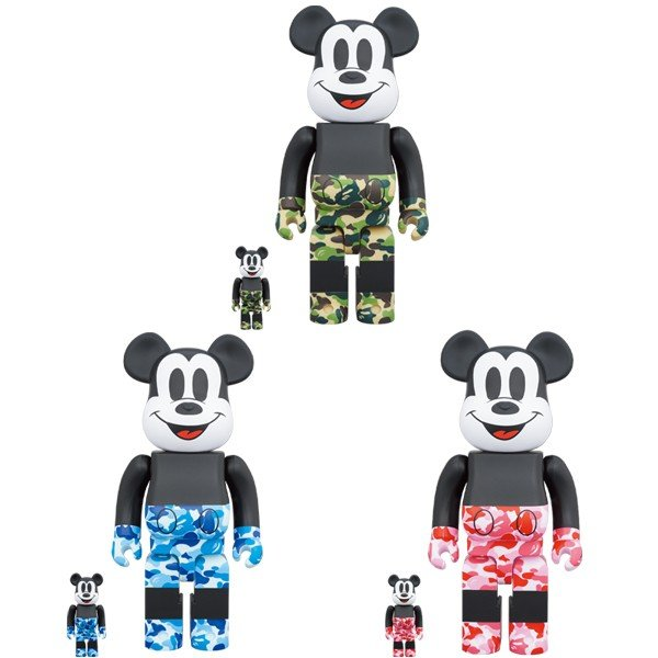 BE@RBRICK BAPE(R) MICKEY MOUSE 100% & 400%|project1-6