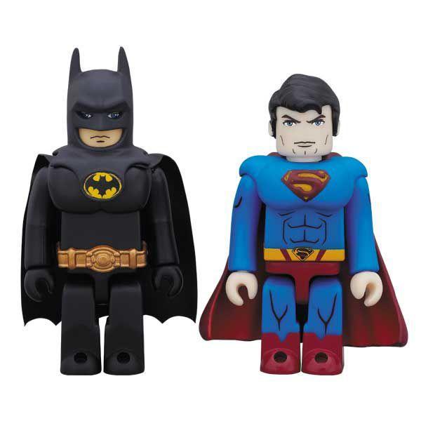 KUBRICK DC COMICS 75th ANNIVERSARY BATMAN(TM)[MOVIE 1989 Ver.] & SUPERMAN(TM)[SUPERMAN RETURNS(TM) Ver.] 2パックセット project1-6
