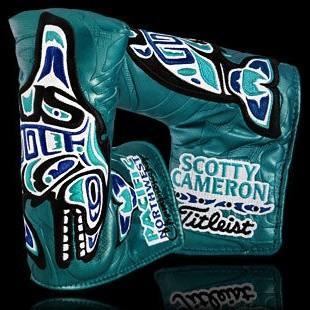 Scotty Cameron 2015 Pacific Northwest Championship Putter Cover スコッティ キャメロン パシフィック ノースウェスト チャンピオンシップ ヘッドカバー