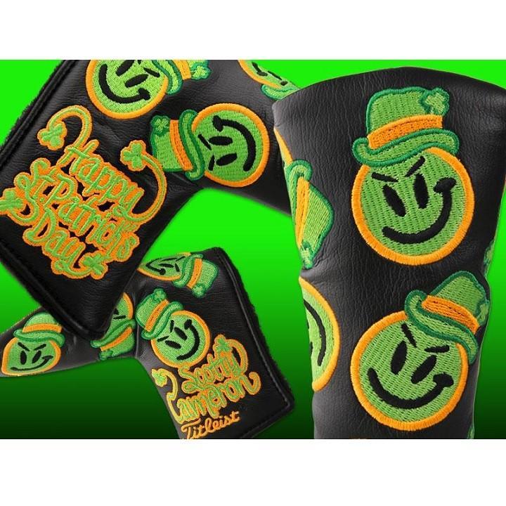 Scotty・Cameron 2013 St.Patricks Day Grinder Headcover 黒 スコッティ キャメロン 2013 セントパトリクスデー グラインダー パターカバー 100203