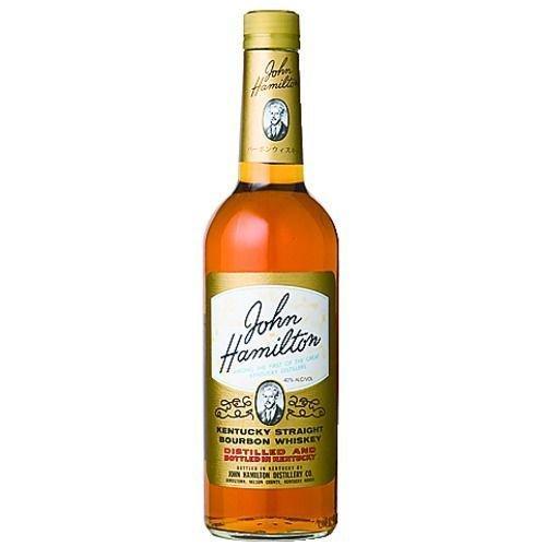 ジョン ハミルトン 正規品 40度 700ml バーボンウイスキー|promart-no1