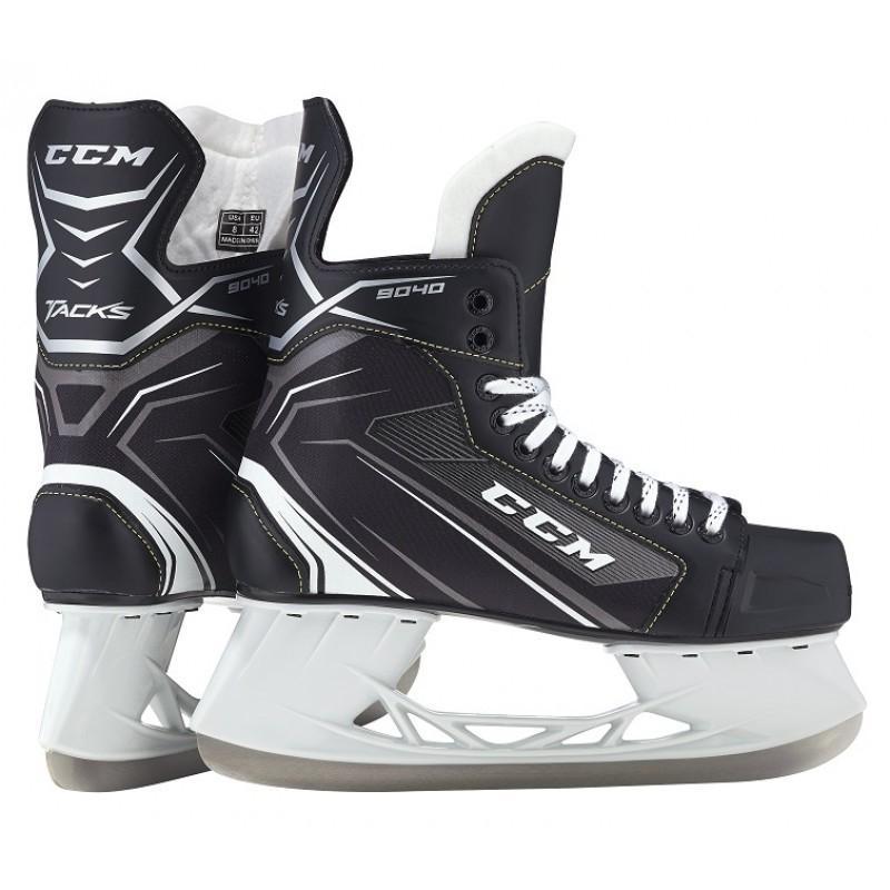 CCM(シーシーエム) TACKS 9040 JR (タックス9040 ジュニア) アイスホッケースケート靴 (UP_SK)