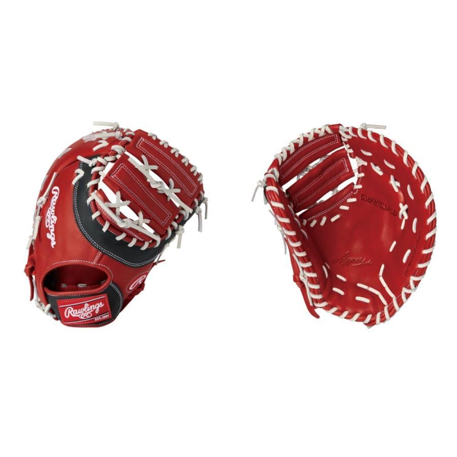 Rawlings(ローリングス) ソフトボール用ファーストミット HYPER TECH DPカラーズ 一塁手用 右投げ用 (RDB) GS8FHTC3ACD