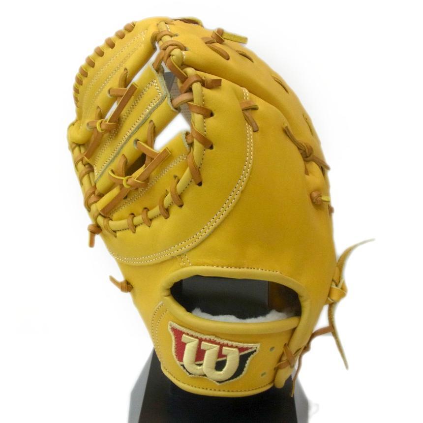 本物の Wilson(ウイルソン) 一般硬式用ファーストミット ブルペン用ミット 一塁手用 【左投げ用】 (35)Lタン WTAHBN34H, 身延町 6a06c32d