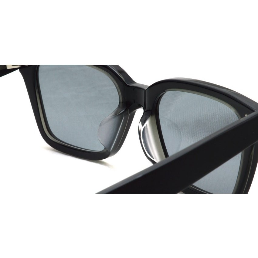 A.D.S.R. NAVARRO 05 ナヴァロ MATTE BLACK & CLEAR BLACK - Clear Gray ブラック&クリアブラック - クリアグレーレンズ  ウェリントン サングラス|props-tokyo|06
