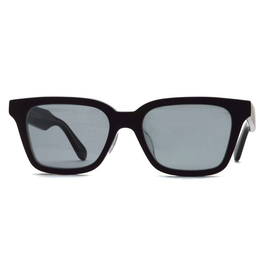 A.D.S.R. NAVARRO 05 ナヴァロ MATTE BLACK & CLEAR BLACK - Clear Gray ブラック&クリアブラック - クリアグレーレンズ  ウェリントン サングラス|props-tokyo|07