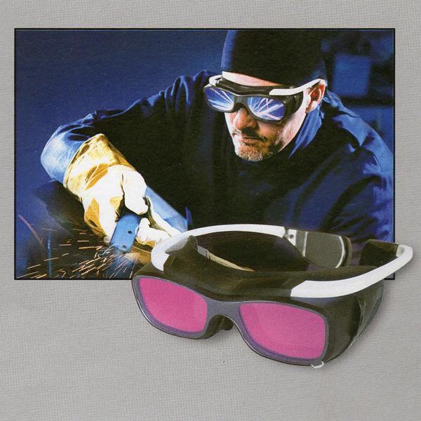 MIGHT (マイト工業) 溶接遮光メガネ MR-01 ≪小型液晶式≫