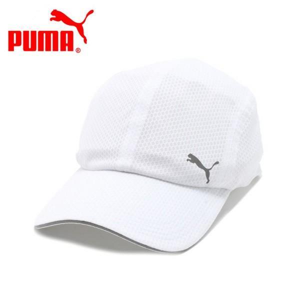 プーマ ランニングキャップ(帽子) ランニング メッシュキャップ (828245-02)