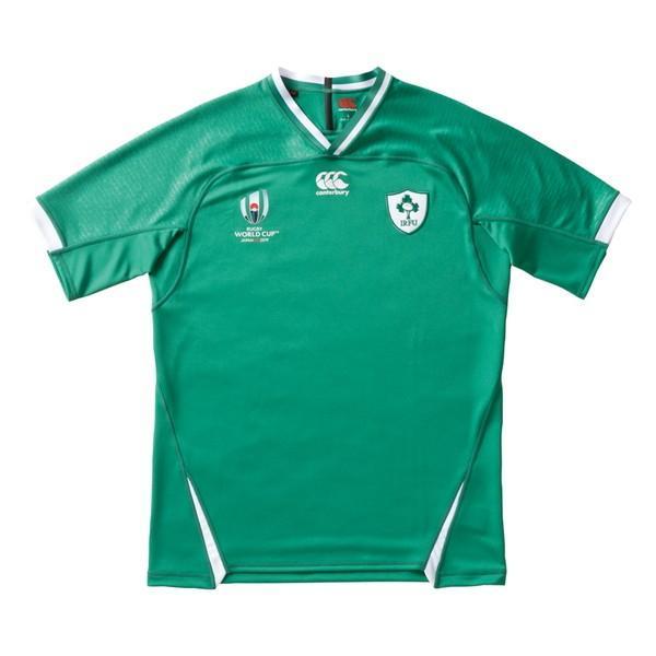 カンタベリー(canterbury)ラグビー レプリカシャツ(メンズ)RWC アイルランド ホーム ジャージ (VWR39004)2019FW