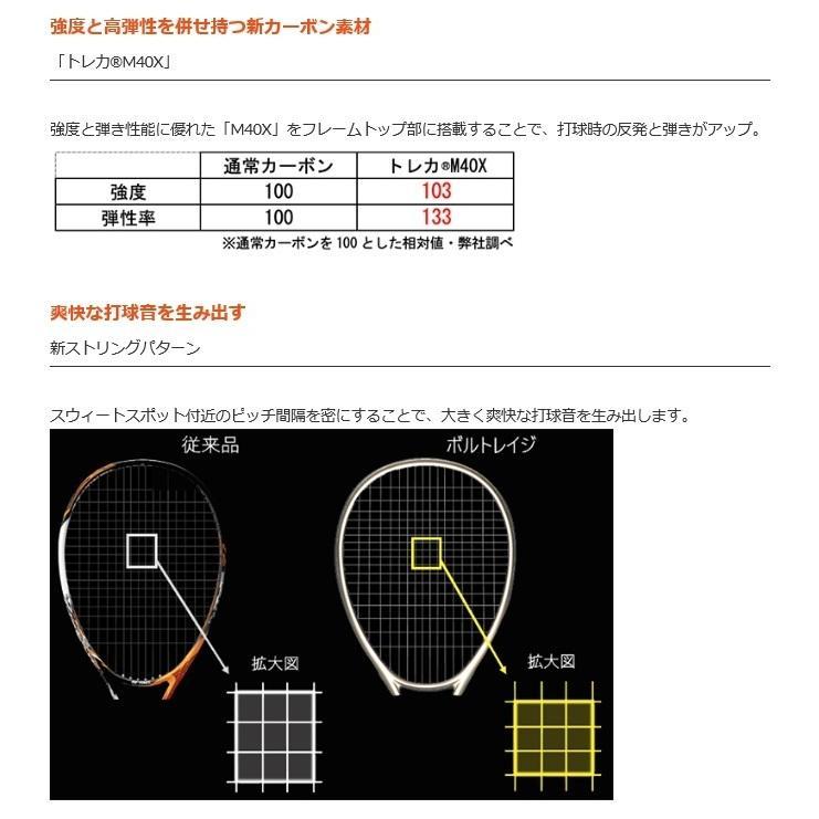 2021年7月上旬発売開始  ヨネックス ソフトテニスラケット ボルトレイジ7V VR7V 前衛用 軟式テニスラケット 中・上級者用 proshop-yamano 07