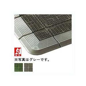 山崎産業 クロスハードマット #12 900mm×1200mm 緑 業務用 玄関マット