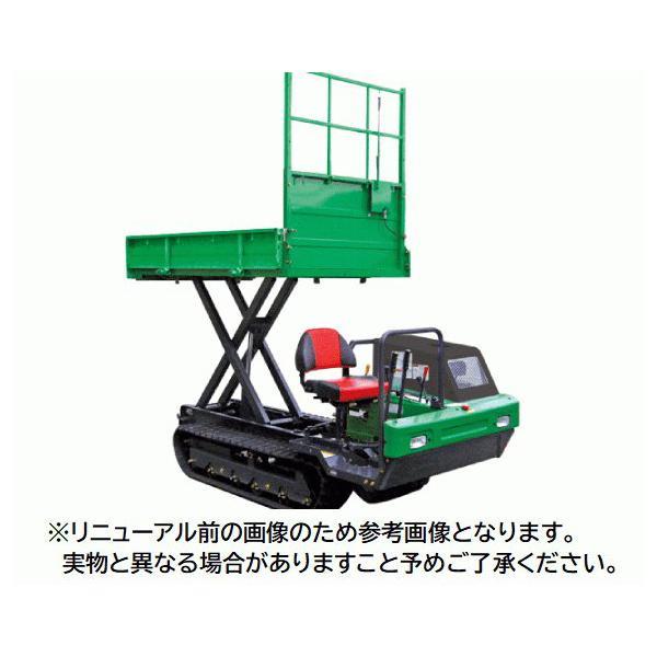 【送料都度見積品】【法人のみ】(株)アテックス 大型クローラ運搬車 [XG1200LDHE]