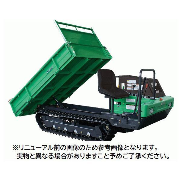 【送料都度見積品】【法人のみ】(株)アテックス 大型クローラ運搬車 [XG850DM]