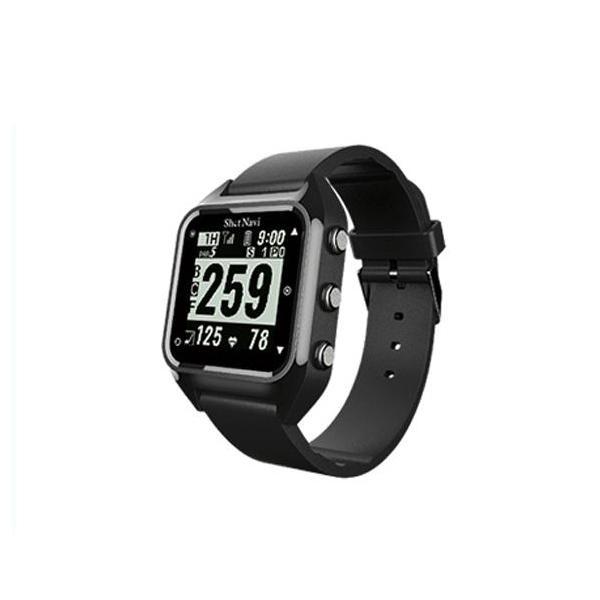 Shot Navi(ショットナビ) Shot Navi ハグ Hug GPSゴルフナビ ブラック 腕時計型 ウェラブル [Hug-B]