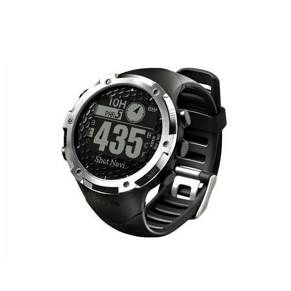 Shot Navi(ショットナビ) Shot Navi W1-FW GPSゴルフナビ ブラック 腕時計型 ウェラブル [W1-FW-B]