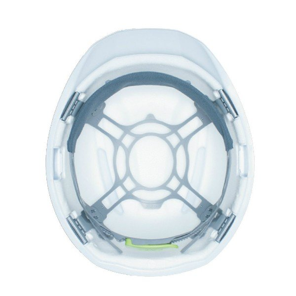 DIC AA17 軽神 超軽量 作業用 ヘルメット(通気孔なし/一体成型ライナー)/ 工事用 建設用 建築用 現場用 高所用 安全 保護帽 超軽い 最軽量 電気設備工事|proshophamada|06