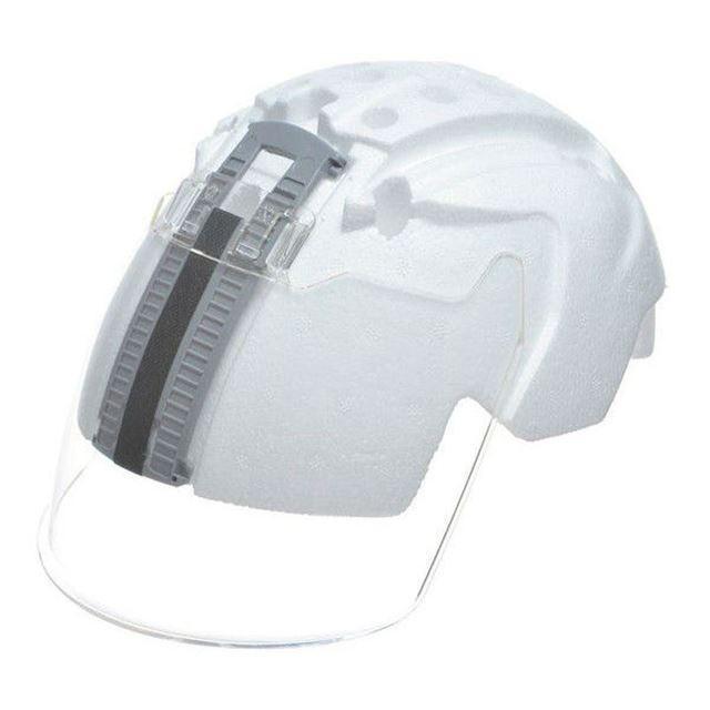 DIC AA11&AP11シリーズ専用 交換用 シールド面 一体型ライナー/ ヘルメット用 工事用 作業用 建設用 建築用 現場用 高所用 安全 保護帽 電気設備工事|proshophamada