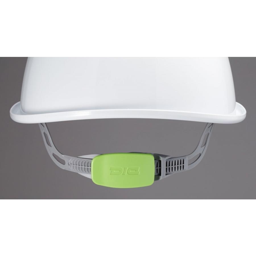 DIC SYA-SVKP コンパクトシールド面付き 作業用ヘルメット(通気孔付き/発泡ライナー)/ 工事用 作業用 建設用 建築用 現場用 高所用 安全 保護帽|proshophamada|04