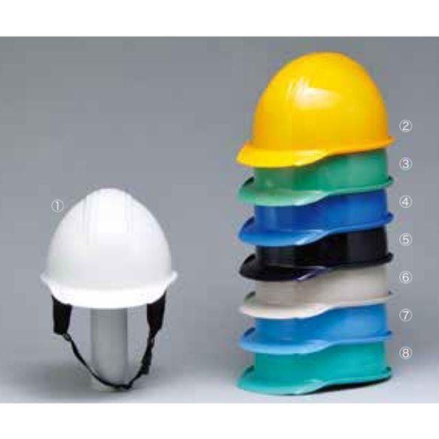 加賀産業 GS-11K (BS-1P)  作業用 ヘルメット(通気孔なし/ライナー入り)/ 工事用 建設用 建築用 現場用 高所用 安全 保護帽 電気設備工事 防災 proshophamada