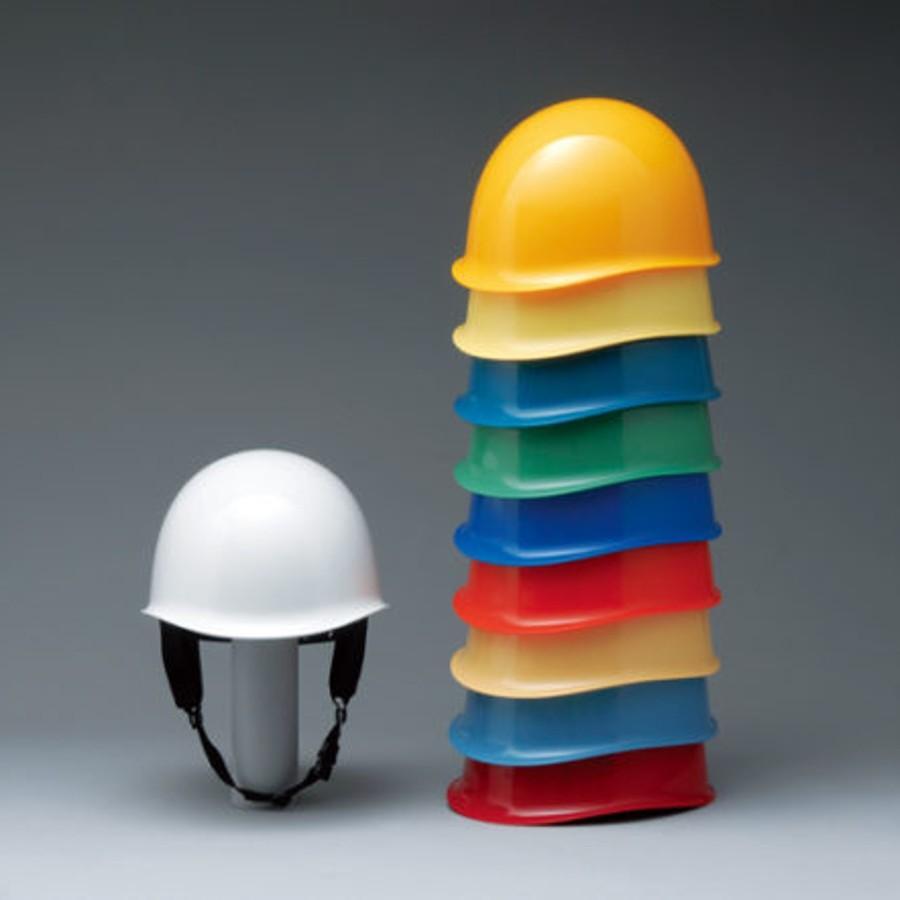加賀産業 GS-44K (MN-1L) 作業用 ヘルメット(通気孔なし/ライナー入り)/ 工事用 作業用 建設用 建築用 現場用 高所用 安全 保護帽 電気設備工事 防災|proshophamada