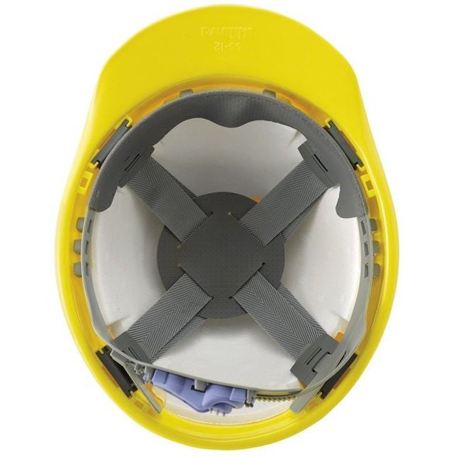 進和化学工業 SS-12型T-P式R 作業用 ヘルメット(通気孔なし/ライナー入り)/工事用 建設用 建築用 現場用 高所用 安全 保護帽 電気設備工事|proshophamada|06