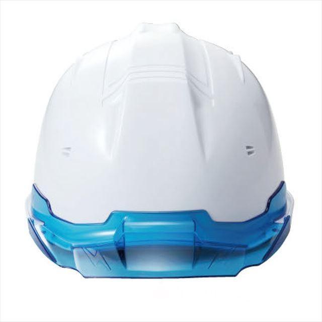 進和化学工業 SS-19V型T-P式RA 透明ひさし 作業用ヘルメット(通気孔付き/ライナー入り)/  工事用 作業用 建設用 建築用 現場用 高所用 安全 保護帽|proshophamada|06
