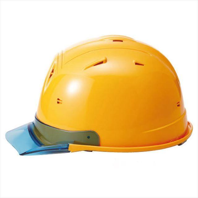 進和化学工業 SS-19V型T-P式RA 透明ひさし 作業用ヘルメット(通気孔付き/ライナー入り)/  工事用 作業用 建設用 建築用 現場用 高所用 安全 保護帽|proshophamada|07
