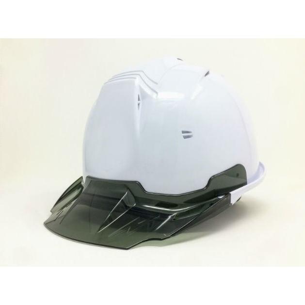 進和化学工業 SS-19V型T-P式RA 透明ひさし 作業用ヘルメット(通気孔付き/ライナー入り)/  工事用 作業用 建設用 建築用 現場用 高所用 安全 保護帽|proshophamada|08