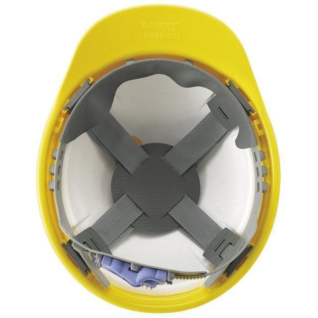 進和化学工業 SS-88-1N型S-8T-P式R  作業用 ヘルメット(通気孔なし/ライナー入り)/ 工事用 建設用 建築用 現場用 高所用 安全 保護帽 電気設備工事|proshophamada|06