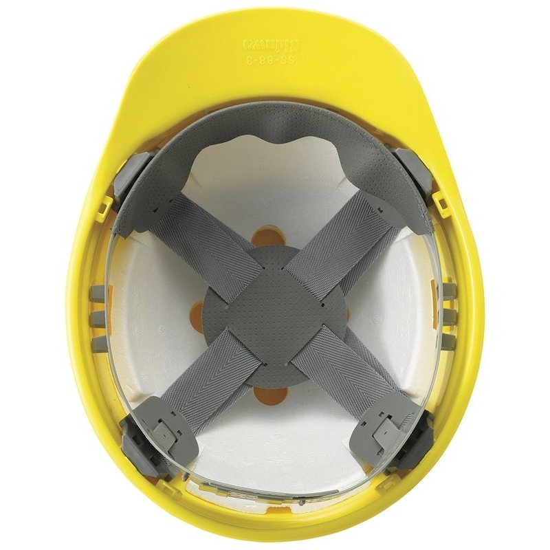 進和化学工業 SS-88-3型T-P式  作業用 特大 ヘルメット(通気孔なし/ライナー入り)/ LL ビッグ 大きい 工事用 建設用 建築 高所用 安全 保護帽 電気設備工事 proshophamada 05