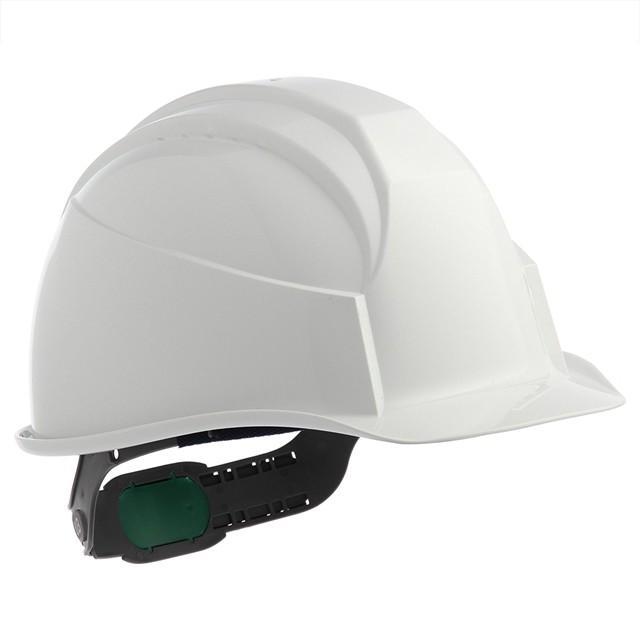 スミハット KK-B 作業用 ヘルメット(通気孔なし/ライナー入り)/ ヘルメット 工事用 建設用 建築用 現場用 高所用 安全 保護帽 電気設備工事対応|proshophamada
