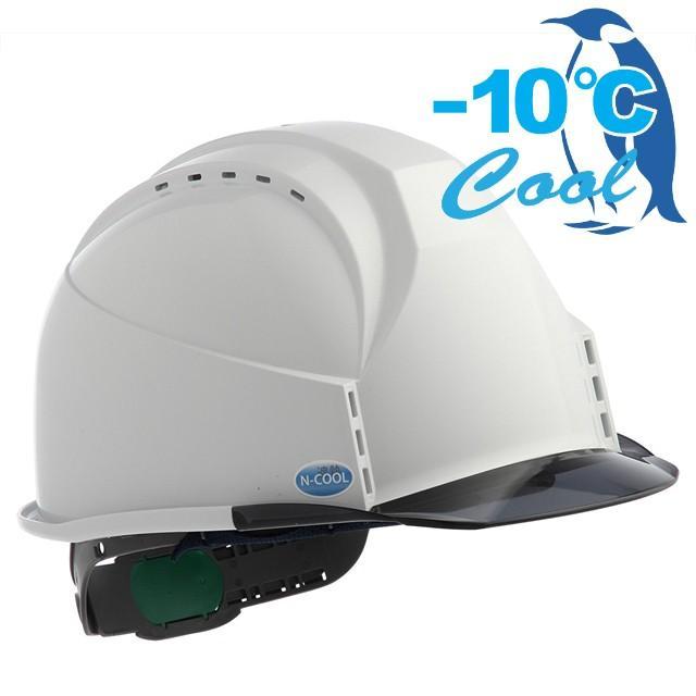スミハット KKC3-B-NCOOL Nクール 遮熱 練込み 透明ひさし 作業用 ヘルメット(通気孔付き/ライナー入り)/ 夏 熱中症対策 安全 工事用 建設用 建築用 高所用|proshophamada