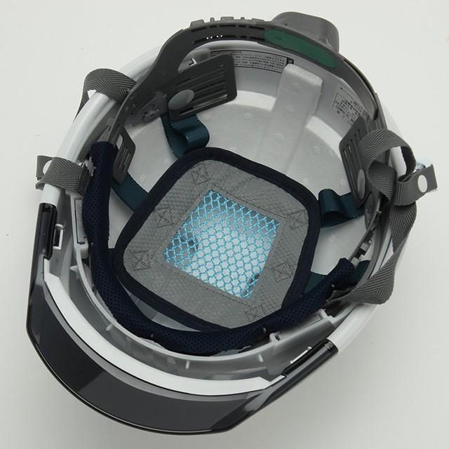 スミハット KKC3-B-NCOOL Nクール 遮熱 練込み 透明ひさし 作業用 ヘルメット(通気孔付き/ライナー入り)/ 夏 熱中症対策 安全 工事用 建設用 建築用 高所用|proshophamada|04