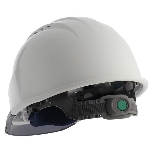 スミハット KKC3-B 透明ひさし 作業用 ヘルメット(通気孔付き/ライナー入り)/ 工事用 建設用 建築用 現場用 高所用 安全 保護帽 クリアバイザー proshophamada 02
