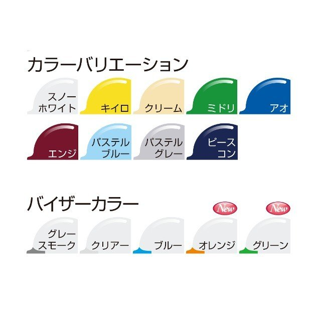 スミハット KKC3-B 透明ひさし 作業用 ヘルメット(通気孔付き/ライナー入り)/ 工事用 建設用 建築用 現場用 高所用 安全 保護帽 クリアバイザー proshophamada 10
