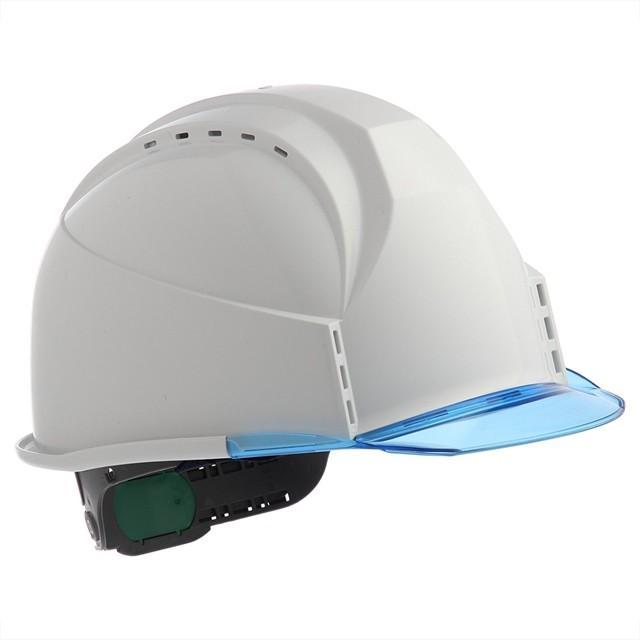 スミハット KKC3-B 透明ひさし 作業用 ヘルメット(通気孔付き/ライナー入り)/ 工事用 建設用 建築用 現場用 高所用 安全 保護帽 クリアバイザー proshophamada 04