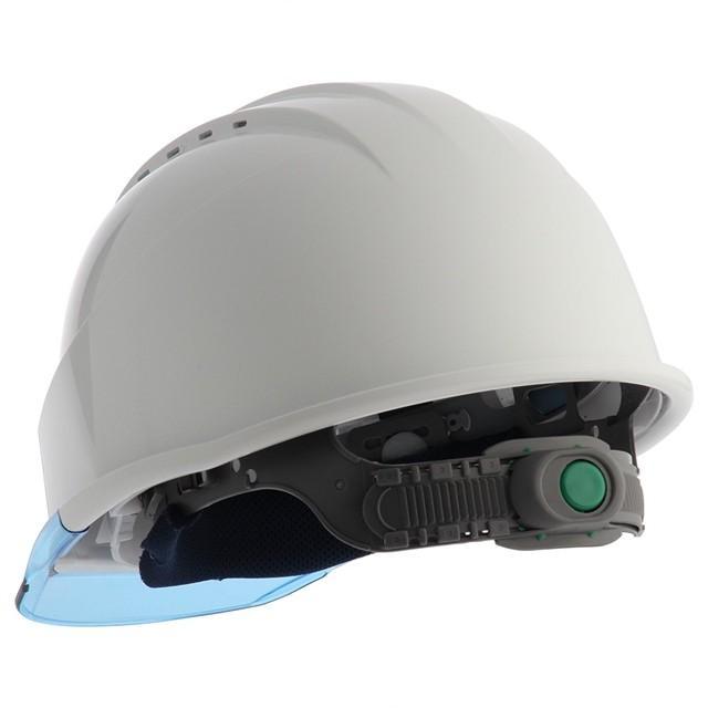 スミハット KKC3-B 透明ひさし 作業用 ヘルメット(通気孔付き/ライナー入り)/ 工事用 建設用 建築用 現場用 高所用 安全 保護帽 クリアバイザー proshophamada 05