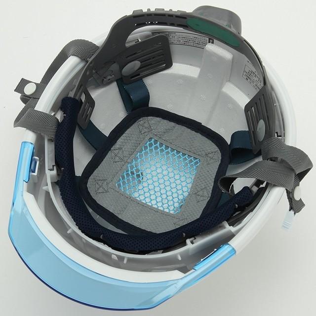 スミハット KKC3-B 透明ひさし 作業用 ヘルメット(通気孔付き/ライナー入り)/ 工事用 建設用 建築用 現場用 高所用 安全 保護帽 クリアバイザー proshophamada 06