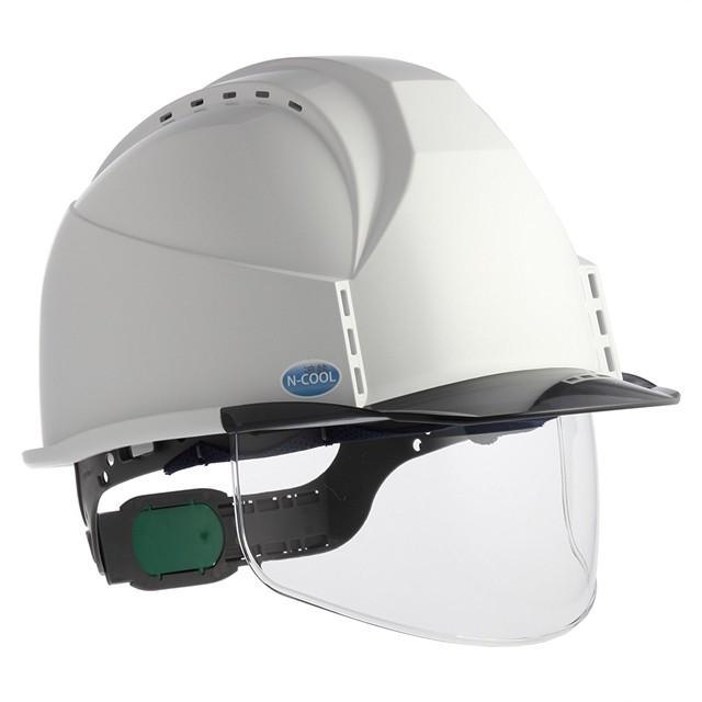 スミハット KKC3S-B-NCOOL Nクール 遮熱 練込 大型シールド面付 作業用 ヘルメット(通気孔付き/ライナー入り)/ 夏 熱中症対策 安全 工事用 建設用 建築用|proshophamada|02