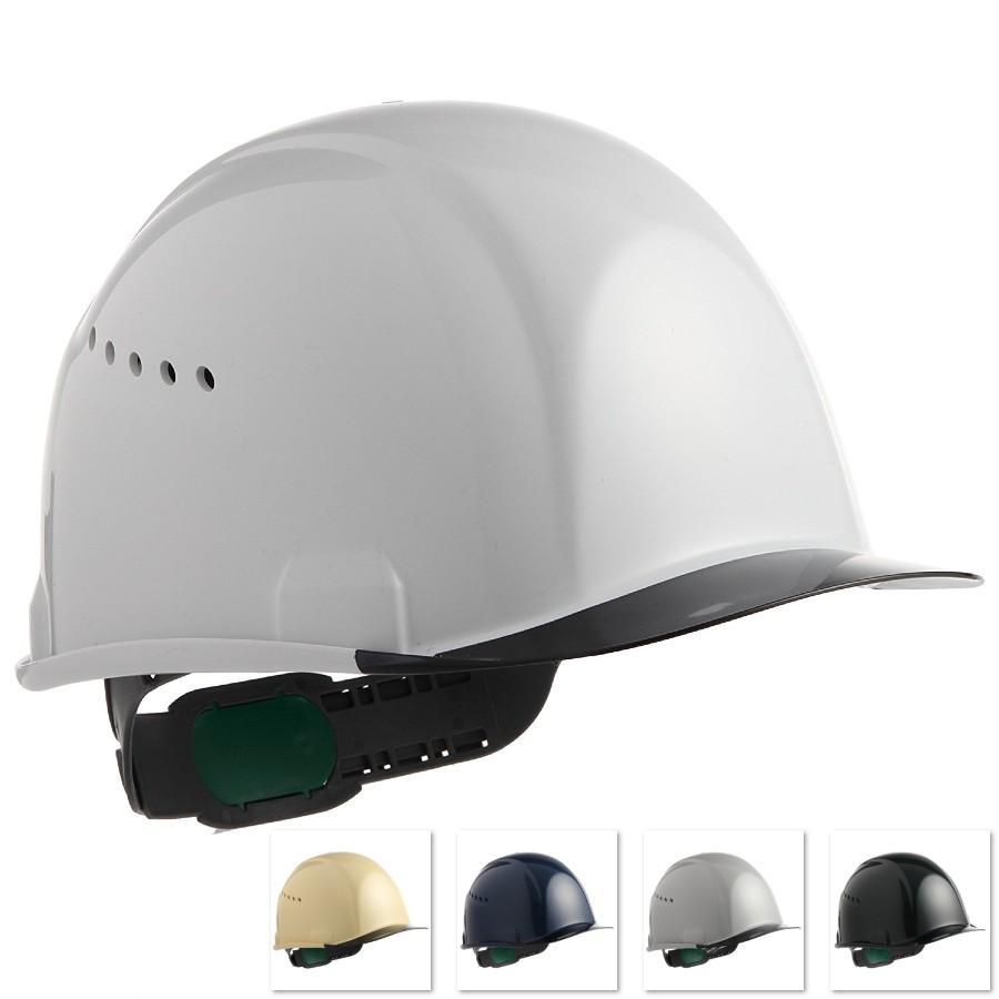 スミハット SAX2C-A 透明ひさし ヘルメット(通気孔付き/エアシート)/ 工事用 作業用 建設用 建築用 現場用 高所用 安全 保護帽 クリアバイザー|proshophamada