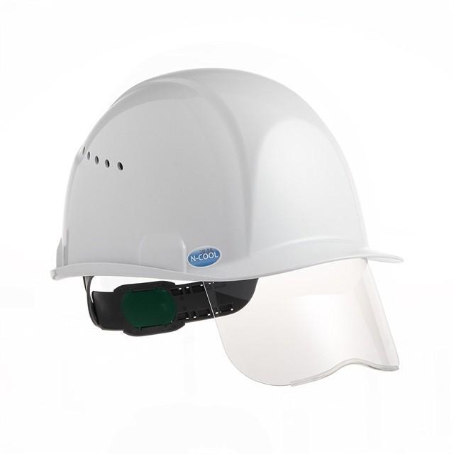 スミハット  SAXCS-B-NCOOL Nクール 遮熱 練込み シールド面付き 作業用 ヘルメット(通気孔付き/ライナー入り)/ 夏 熱中症対策 安全 工事用 建設用 高所用|proshophamada|02