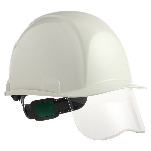 スミハット SAXS-B コンパクトシールド面付 作業用 ヘルメット(通気孔なし/ライナー入り)/ 工事用 建設用 建築用 現場 高所用 安全 保護帽 電気設備工事|proshophamada