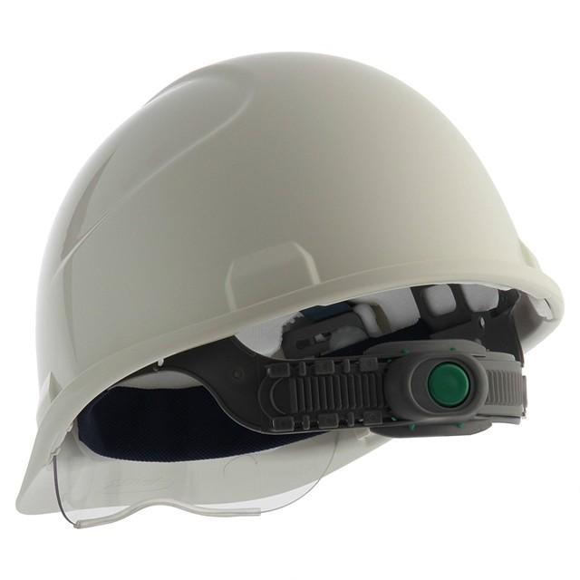 スミハット SAXS-B コンパクトシールド面付 作業用 ヘルメット(通気孔なし/ライナー入り)/ 工事用 建設用 建築用 現場 高所用 安全 保護帽 電気設備工事|proshophamada|03