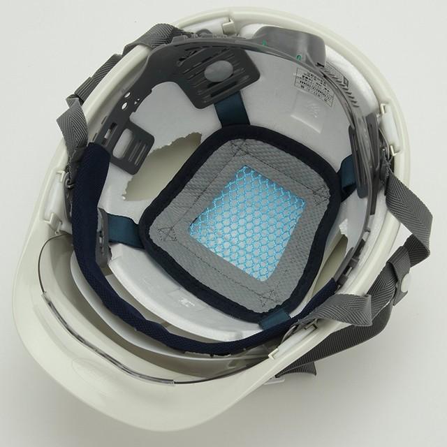 スミハット SAXS-B コンパクトシールド面付 作業用 ヘルメット(通気孔なし/ライナー入り)/ 工事用 建設用 建築用 現場 高所用 安全 保護帽 電気設備工事|proshophamada|04