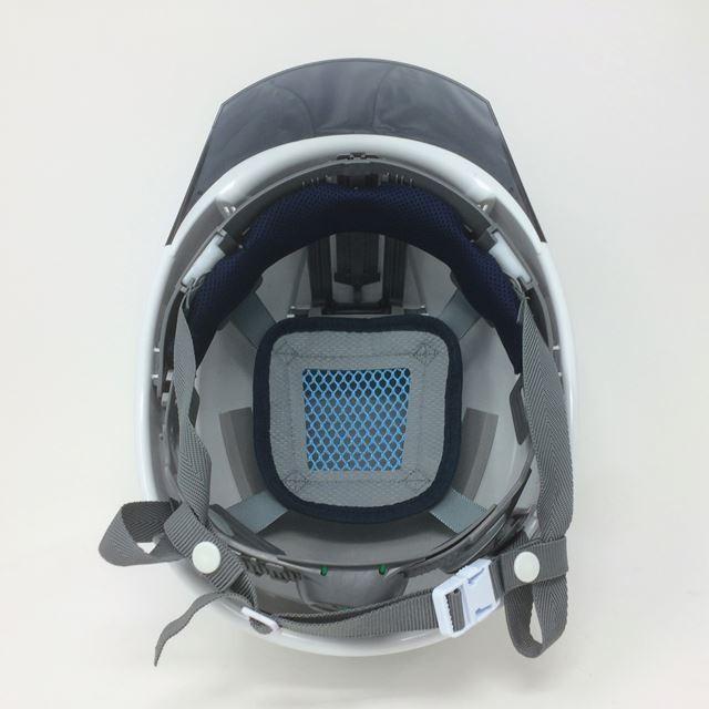 スミハット KKX-A-NCOOL Nクール 透明ひさし 遮熱 ヘルメット(通気孔なし/圧縮エアシート)/  夏 熱中症対策 工事 作業 建設 建築  高所 保護帽 電気設備工事 proshophamada 06