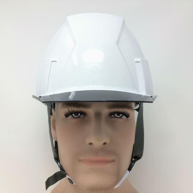 スミハット KKX-A-NCOOL Nクール 透明ひさし 遮熱 ヘルメット(通気孔なし/圧縮エアシート)/  夏 熱中症対策 工事 作業 建設 建築  高所 保護帽 電気設備工事 proshophamada 07