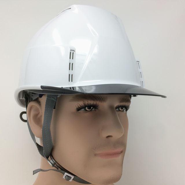 スミハット KKXC-A 透明ひさし 作業用 ヘルメット(通気孔付き/圧縮エアーシート)/ 工事用 建設用 建築用 現場用 高所用 安全 保護帽 proshophamada 08