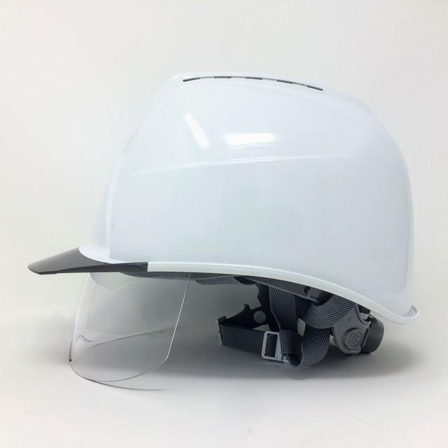 スミハット KKXCS-A 横長コンパクトシールド面付き 作業用 ヘルメット(通気孔付き/圧縮エアーシート)/ 工事用 建設用 建築用 現場用 高所用 安全 保護帽|proshophamada|04